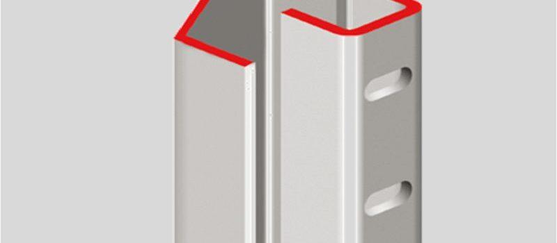 profil de recouvrement pliage en u profilé de sécurité ab fermetures le havre