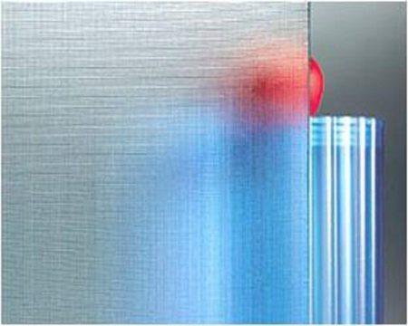 Verre décoratif 4 mm ( Ecran ) Vitrerie AB Fermetures Le Havre