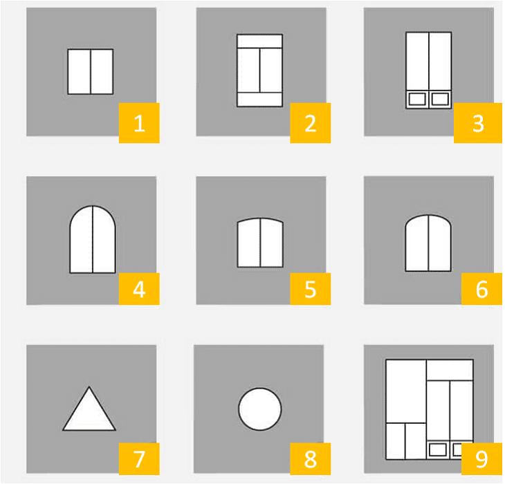 les formes des fenêtres pvc, ab fermetures le havre