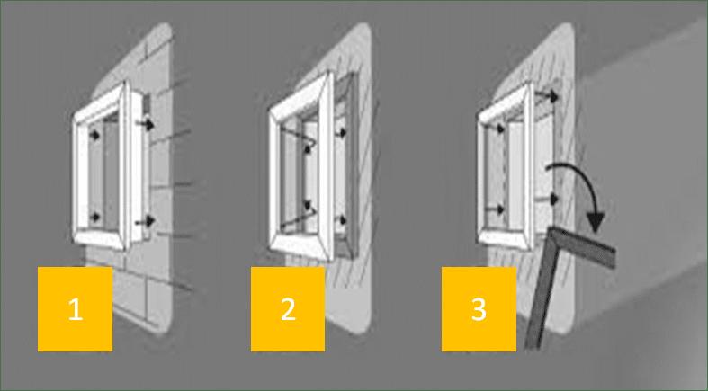 les types de pose des fenêtres pvc ab fermetures le havre