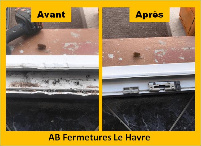 Réparation de menuiserie et profil pvc le havre 76 en Seine Maritime - AB Fermetures