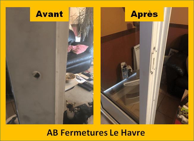 Réparation porte fenêtre pvc Le Havre - ab fermeture